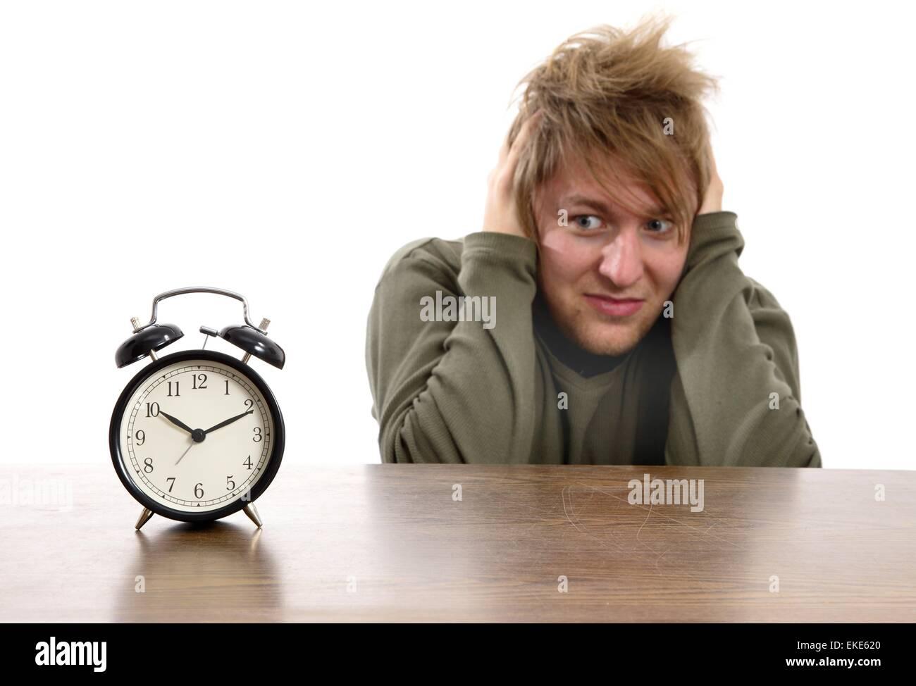 Alarm - Stock Image