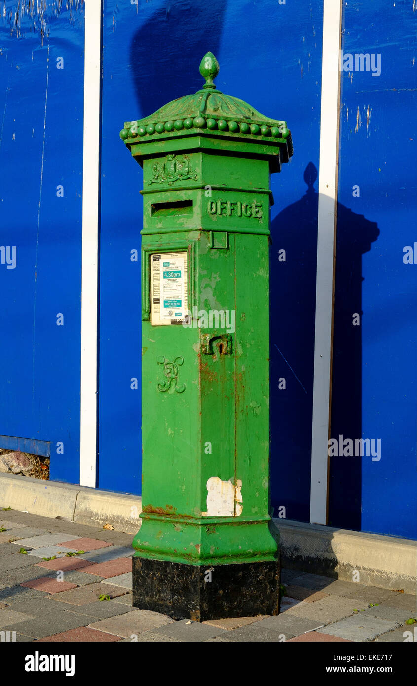 irish postbox Photo by Peter Cavanagh [Must Credit] - Stock Image