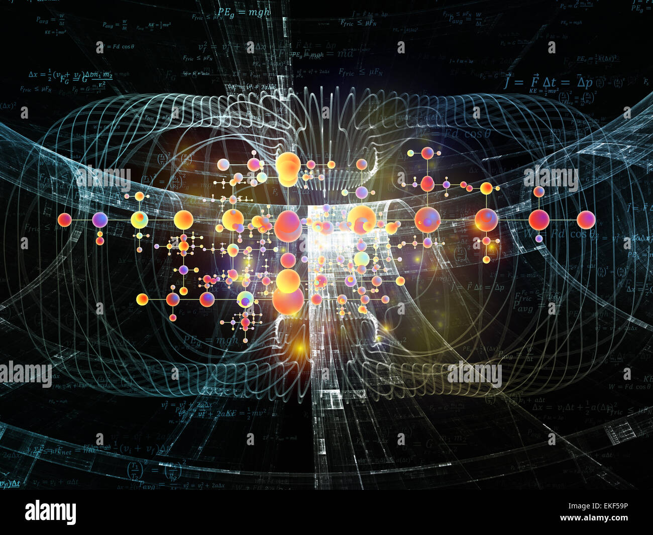 Advance of Physics - Stock Image