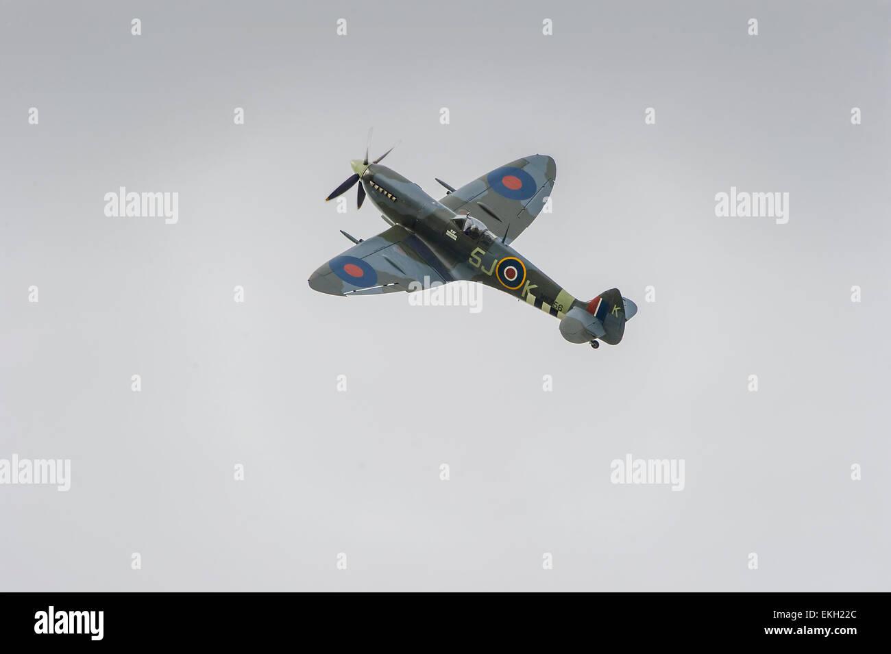 RAF BBMF Spitfire MK356 LFIXe Stock Photo