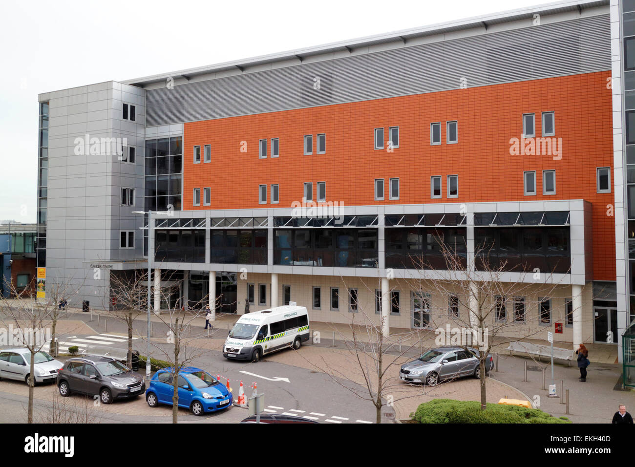 northern ireland cancer centre at the city hospital belfast - Stock Image
