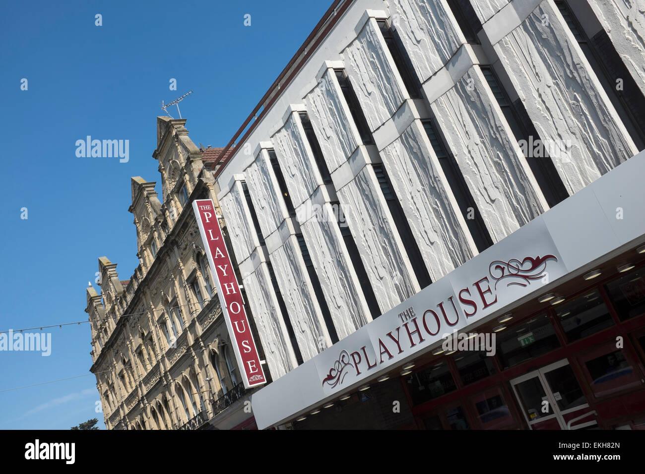 The Playhouse Theatre in Weston Super Mare - Stock Image