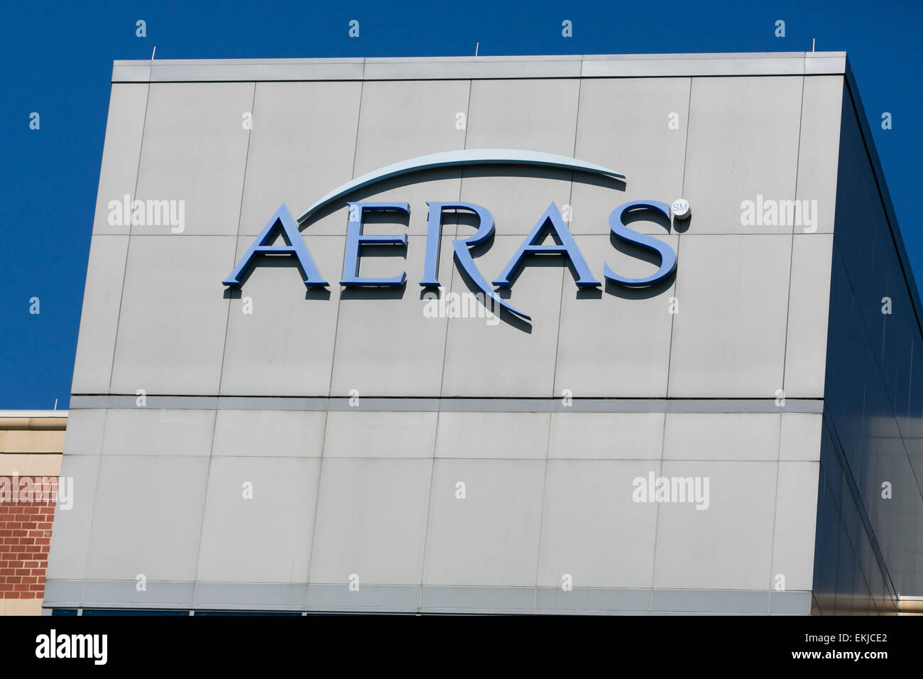 The headquarters of the biotechnology firm Aeras. - Stock Image