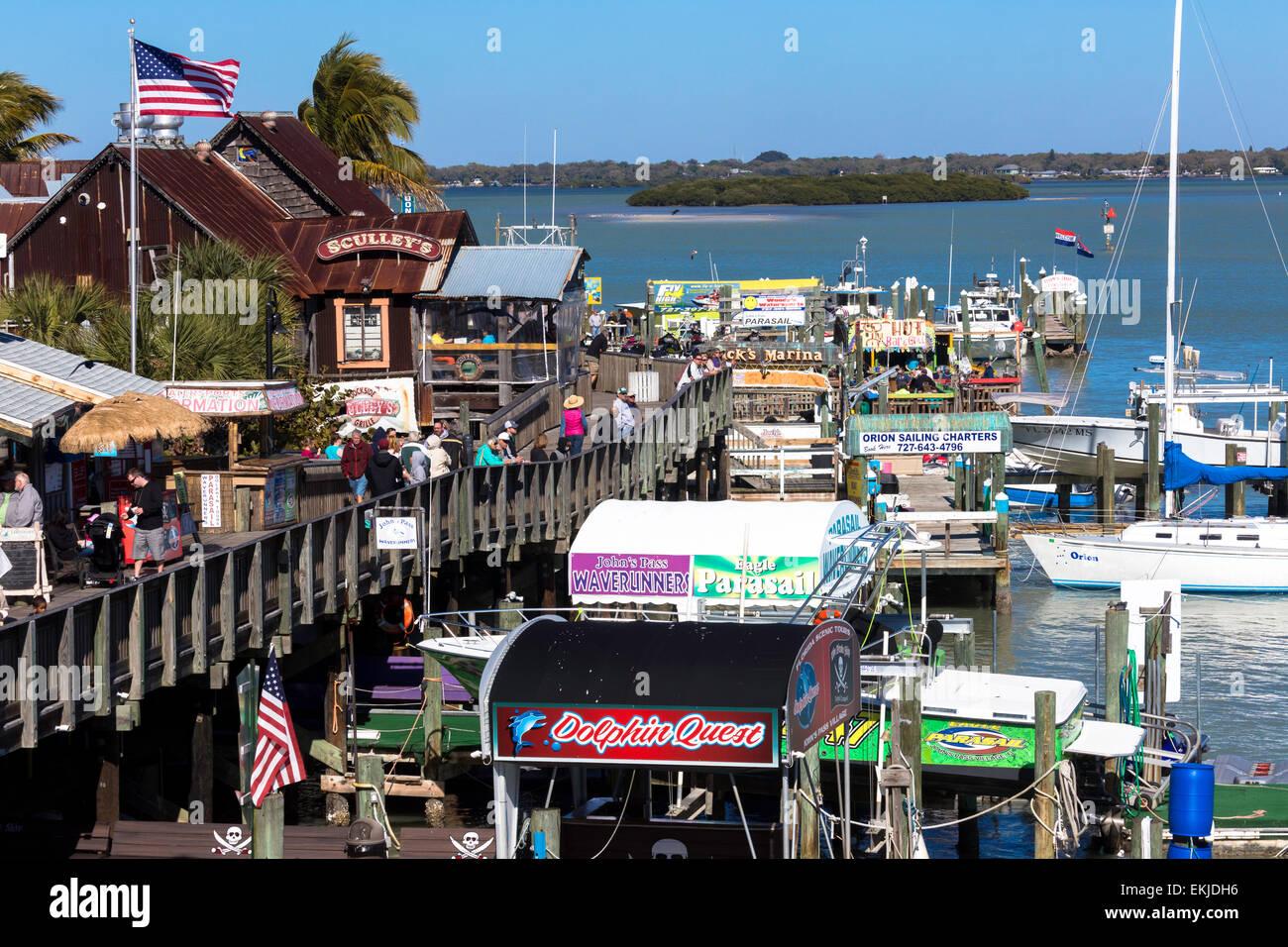 John Pass Village Treasure Island Florida