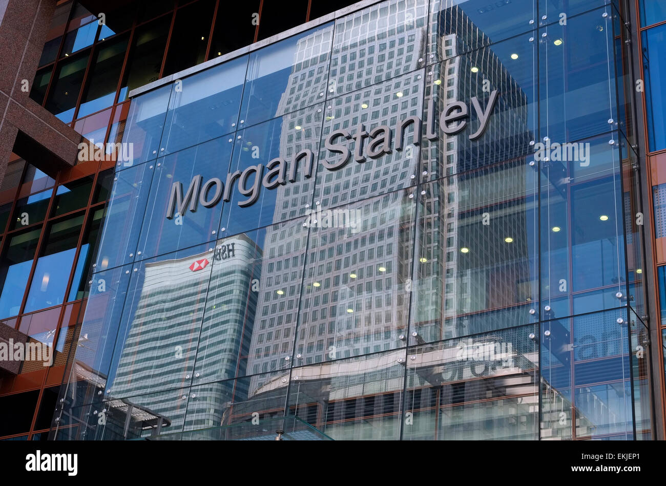 Morgan Stanley Uk Headquarters Canary Wharf London