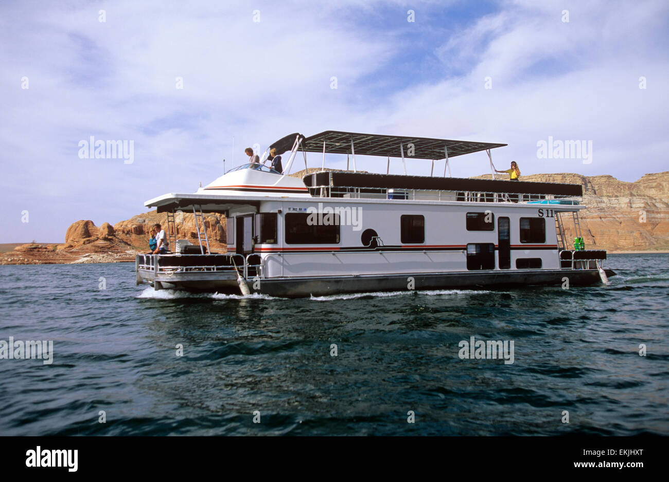 Rental Houseboats Such As This 59 Admiral Model Can