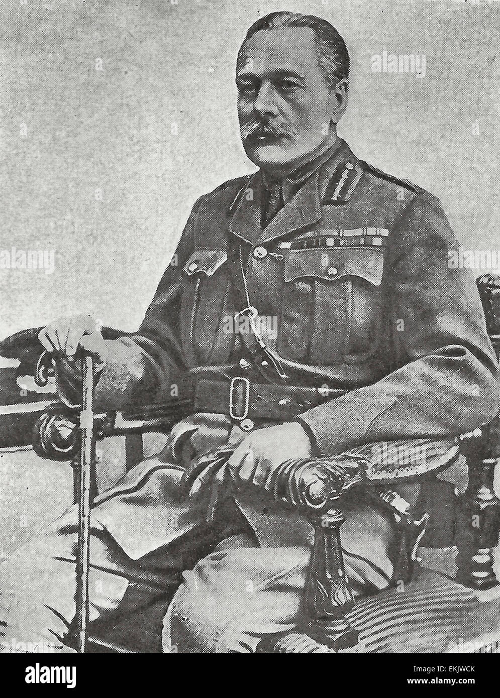 General Sir Douglas Haig , Commander in Chief of the British Armies on the Western Front - Stock Image
