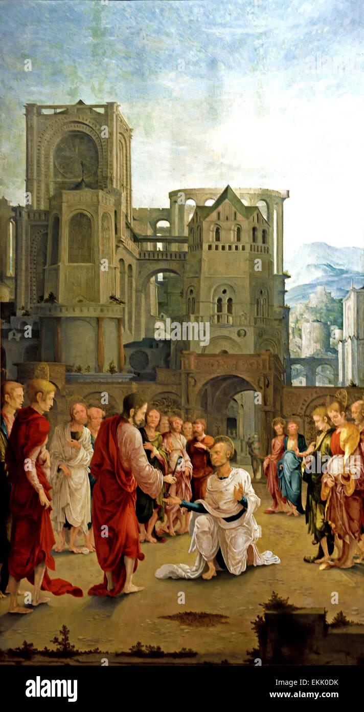 Jesus Handing Painting