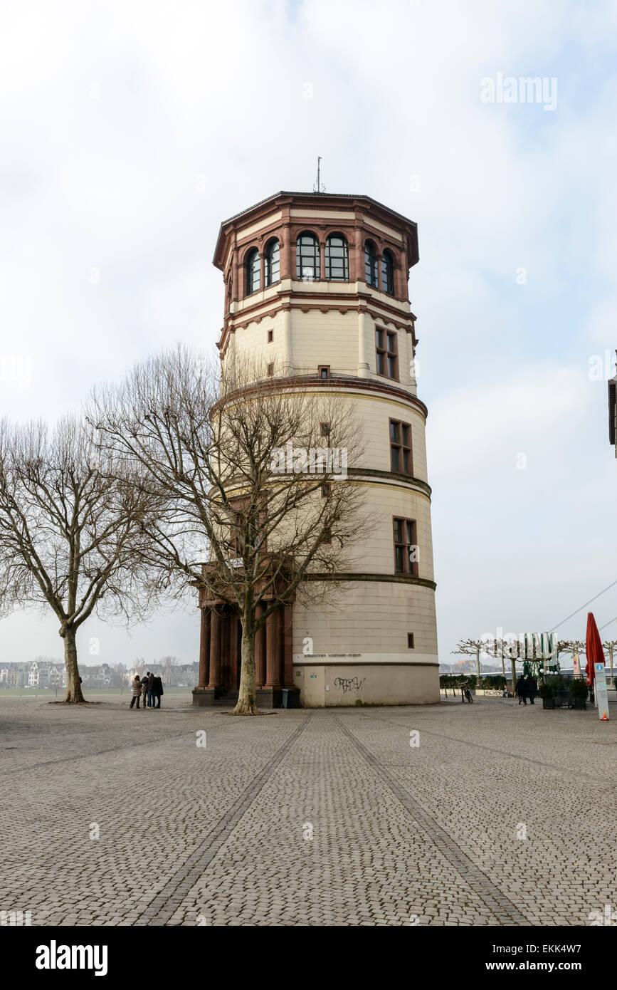 Schlossturm Tower, Dusseldorf Stock Photo