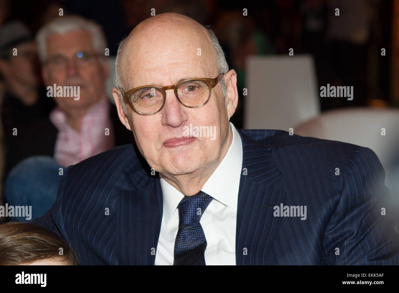 Munich, Germany. 10th Apr, 2015. American actor Jeffrey Tambor at the premiere of US American TV show 'Transparent' - Stock Image