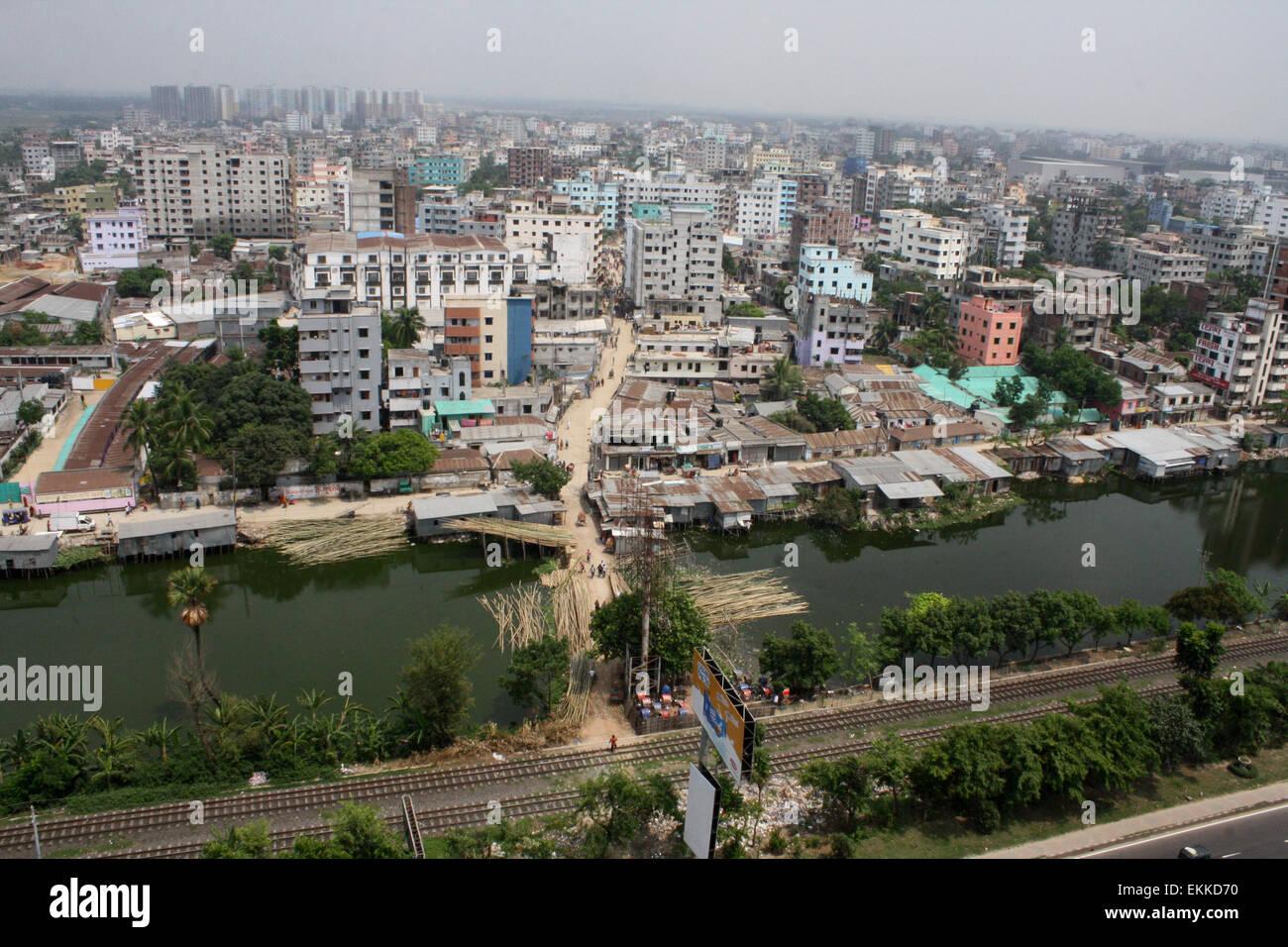 Asian city dhaka