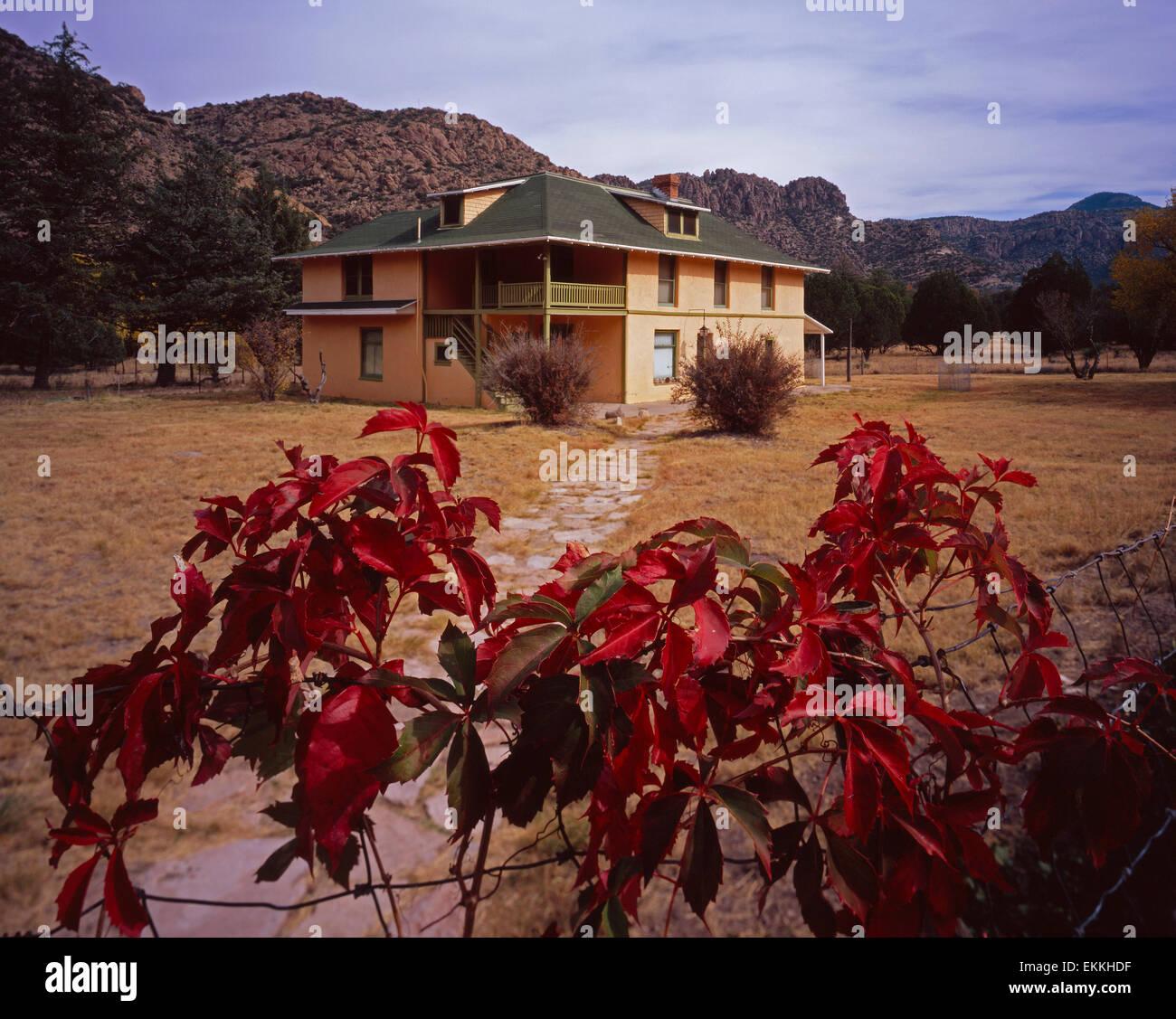 Faraway Ranch, Chiricahua National Monument - Stock Image