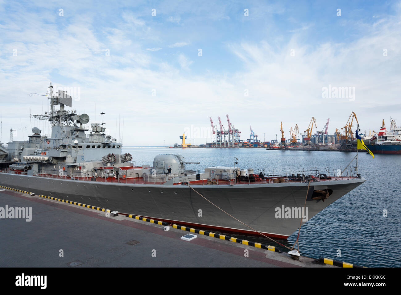 warship - Stock Image