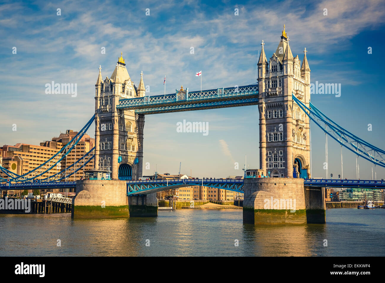 Tower bridge in London - Stock Image