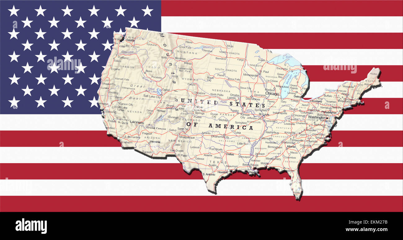 Geographical map of United States of America with the USA ... on geographical map of papua new guinea, geographical map of western us, geographic location of united states, exact center of the united states, map of england and united states, map of northern canada and united states, terrain united states, road map of northwestern united states, organized incorporated territories of the united states, subtropical area of the united states, geographical map of texas, the region of northeast united states, northern border of the united states, map of caribbean islands and united states, member nations of the united states, physical geography map united states, geographical map of malaysia, map of eastern united states, geographical map of burma, ancient maps of the united states,
