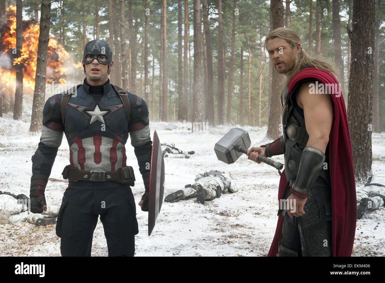 Avengers: Age of Ultron is an upcoming American superhero film based on the Marvel Comics superhero team the Avengers, - Stock Image