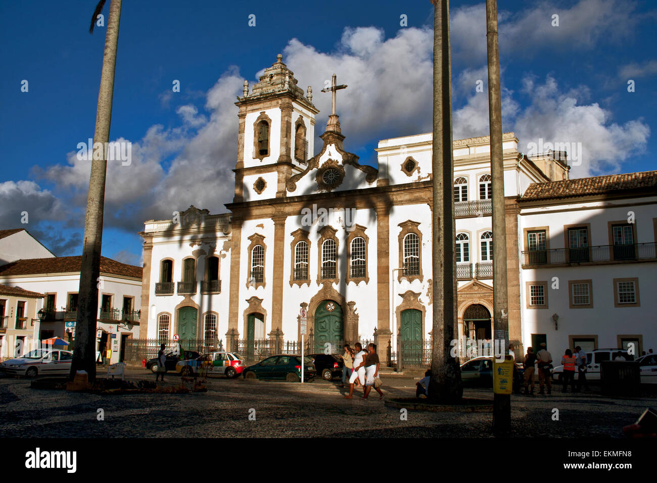 Salvador De Bahia Brazil The Church Of St Dominic Sao Domenico