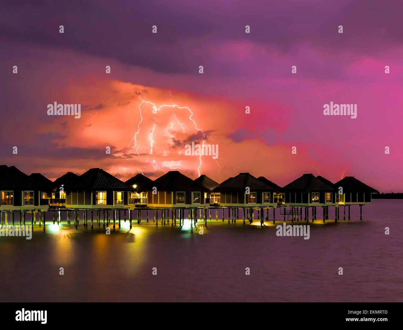 Thunderstorm - Stock Image