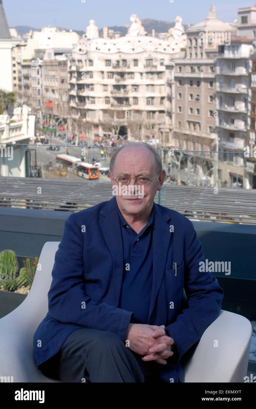 Antonio Tabucchi , Italian writer and critic. - Stock Image