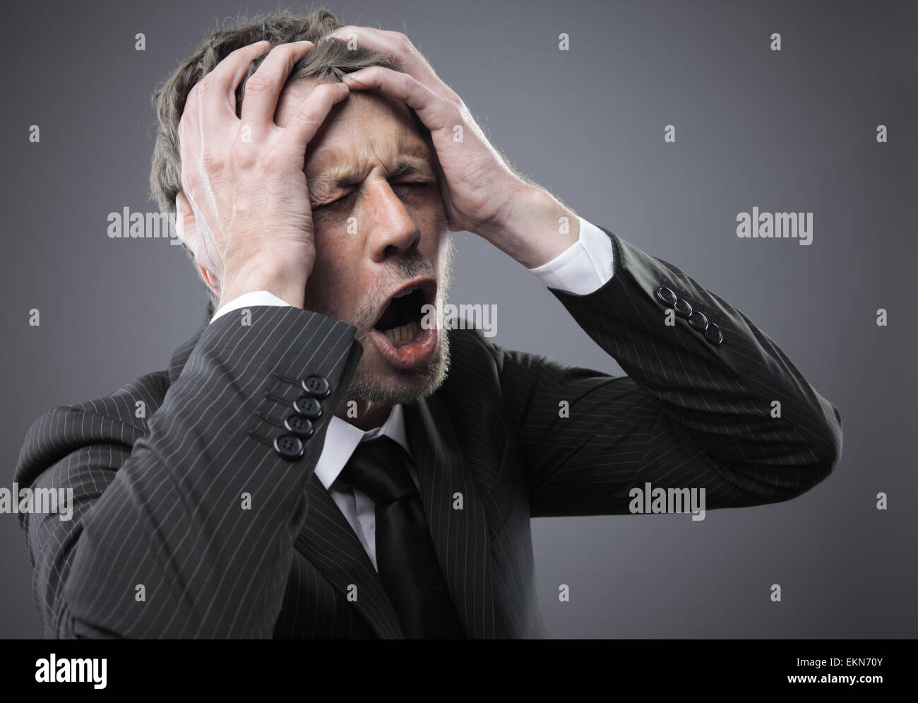 Pain - Stock Image