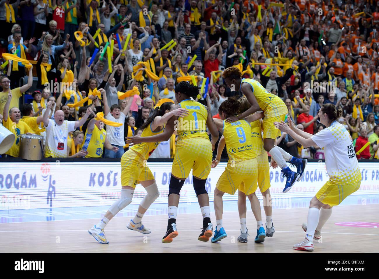 9a48f4e1269 European Women's Basketball League, final match USK Praha vs.  Yekaterinburg, Prague, Czech