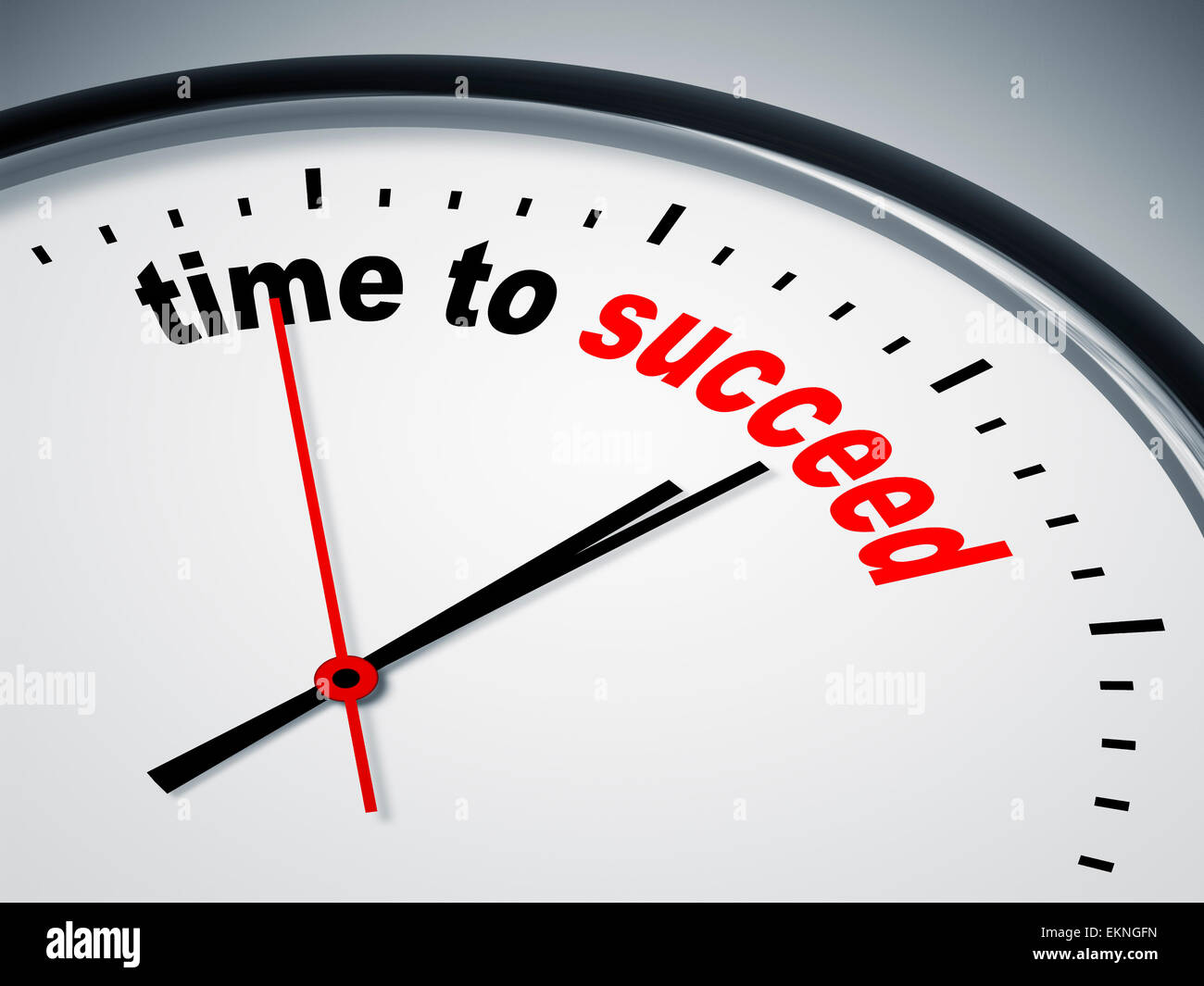time to succeed - Stock Image