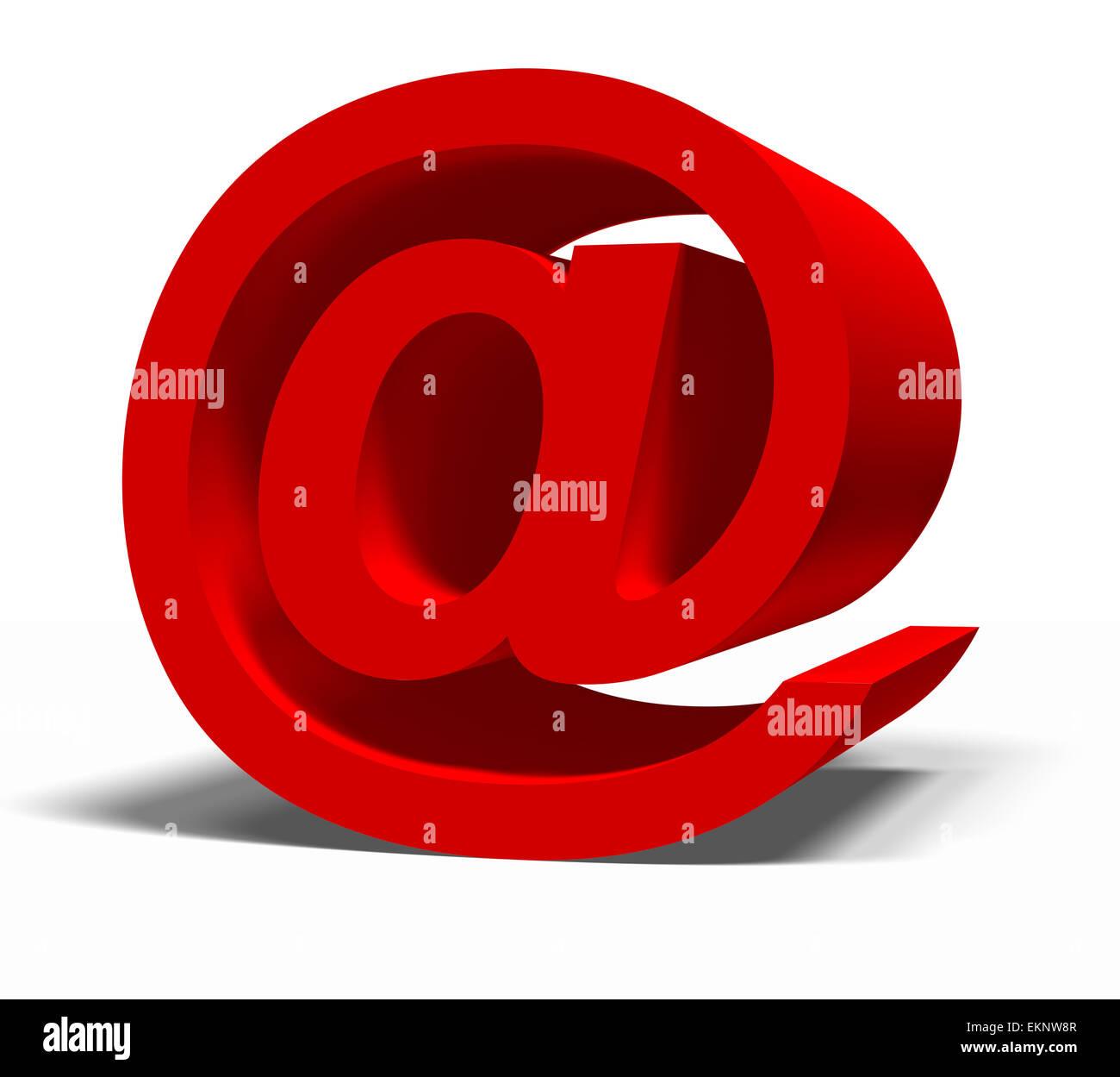 e-mail symbol - Stock Image
