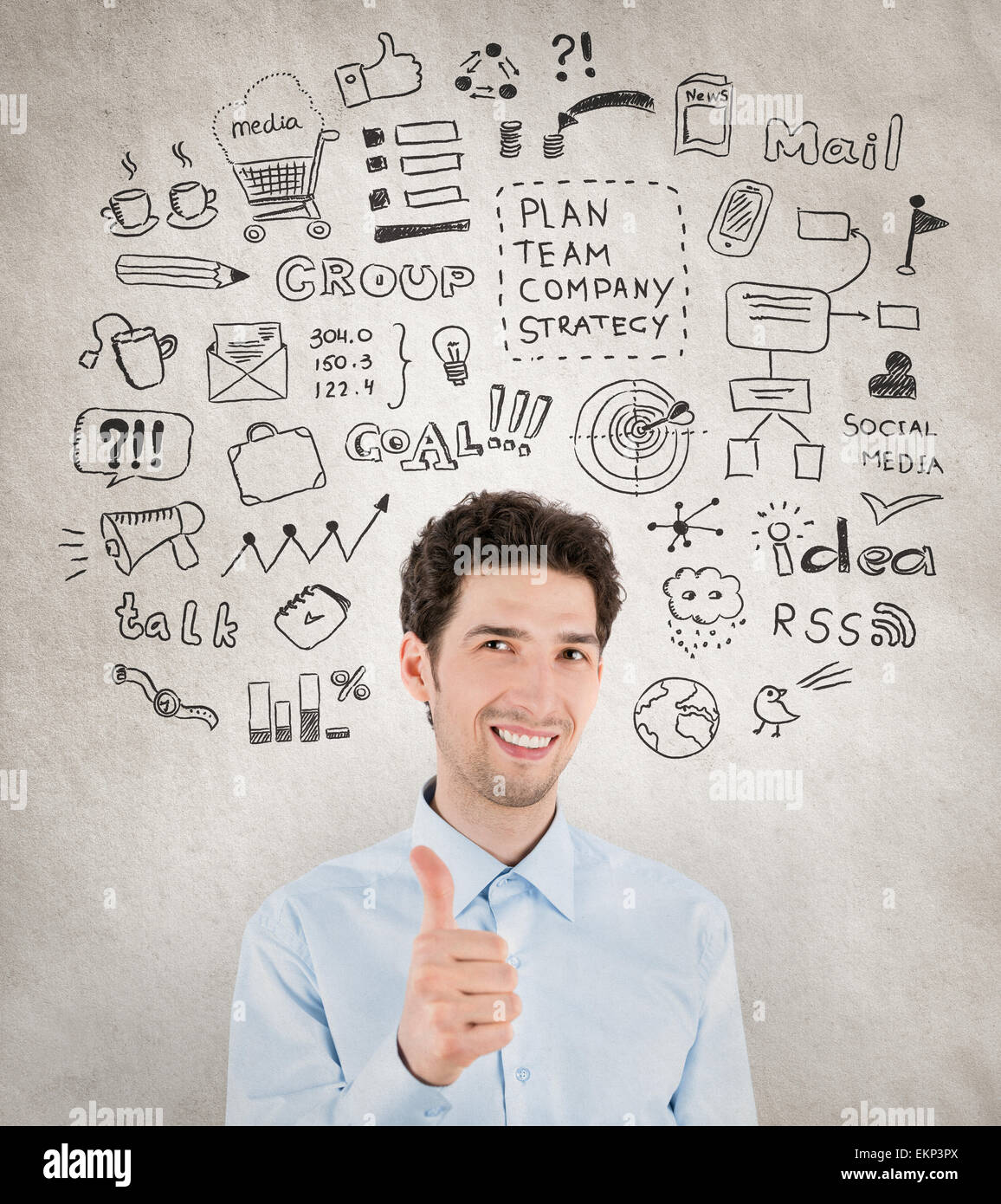 Success business management - Stock Image