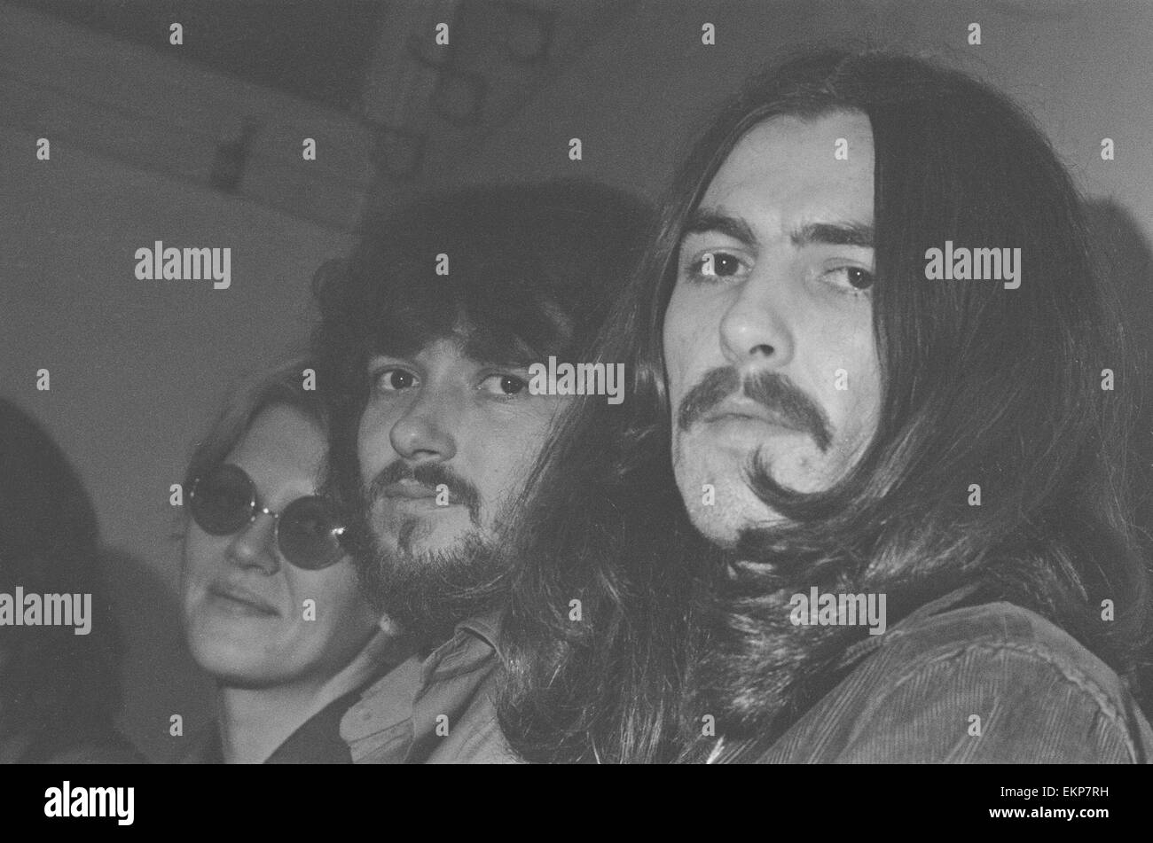 Delaney & Bonnie & Friends music concert at Birmingham Town Hall 4th December 1969. NOTE: Concert performed - Stock Image