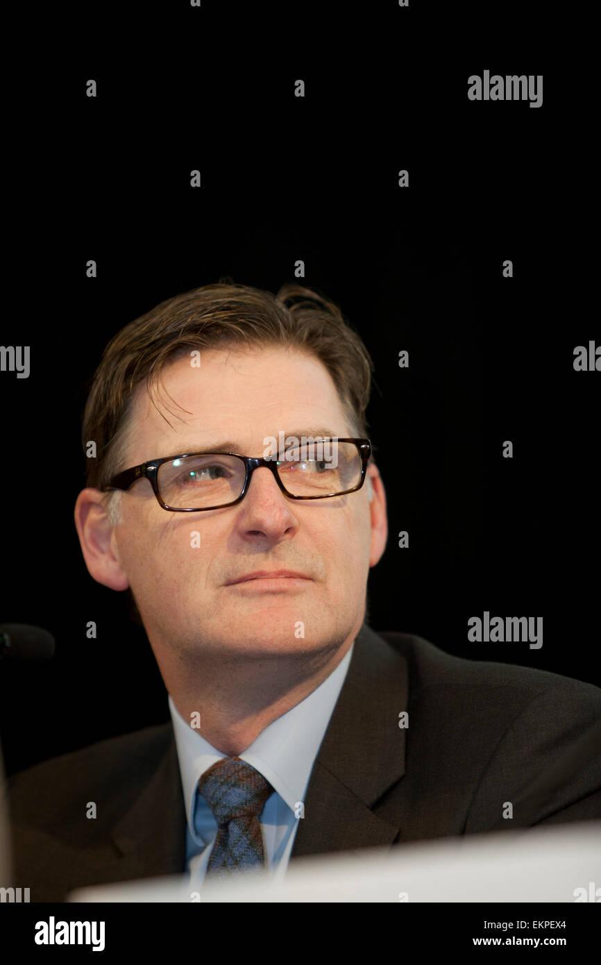 Economy Debate at The National Gallery, Edinburgh Mike Crockart MP (Scottish Liberal Democrats) Stock Photo