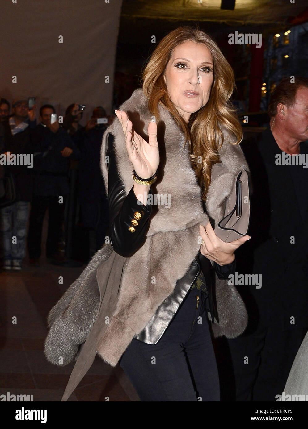 Celine Dion 2012