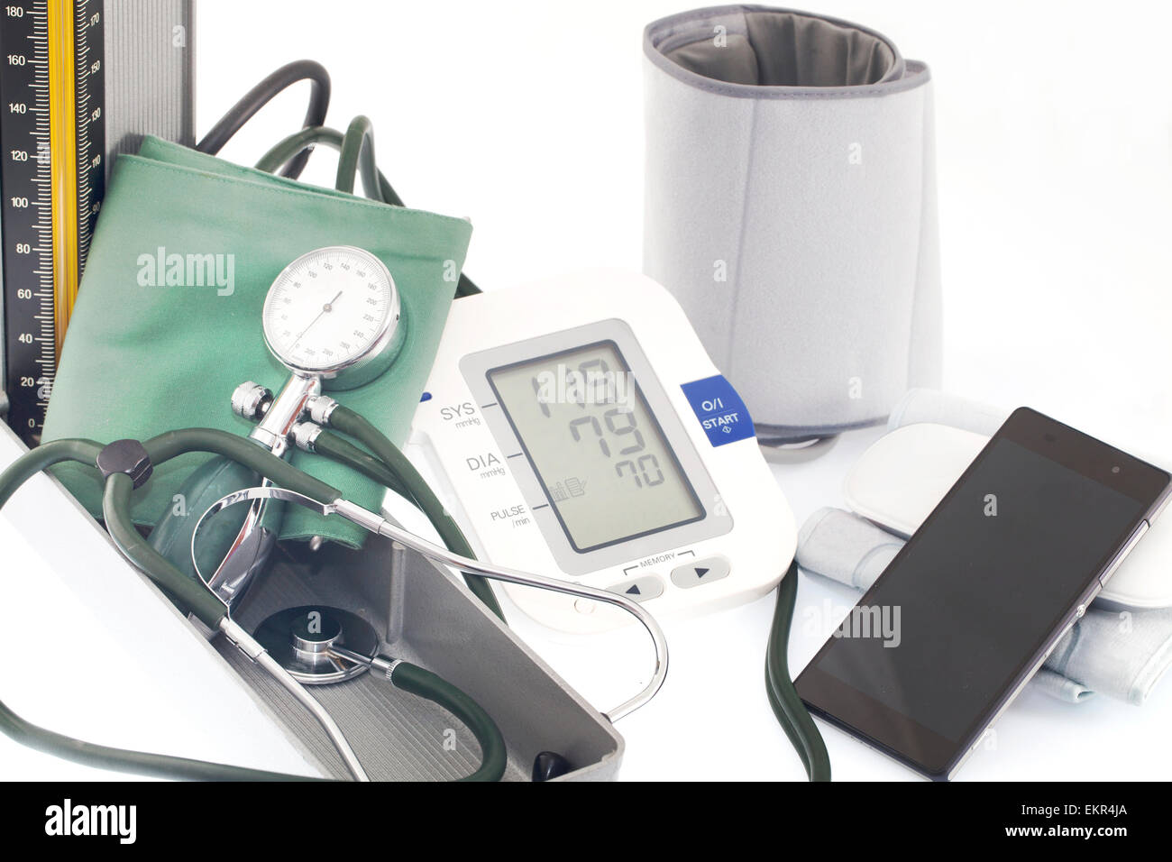 Blood pressure - Stock Image