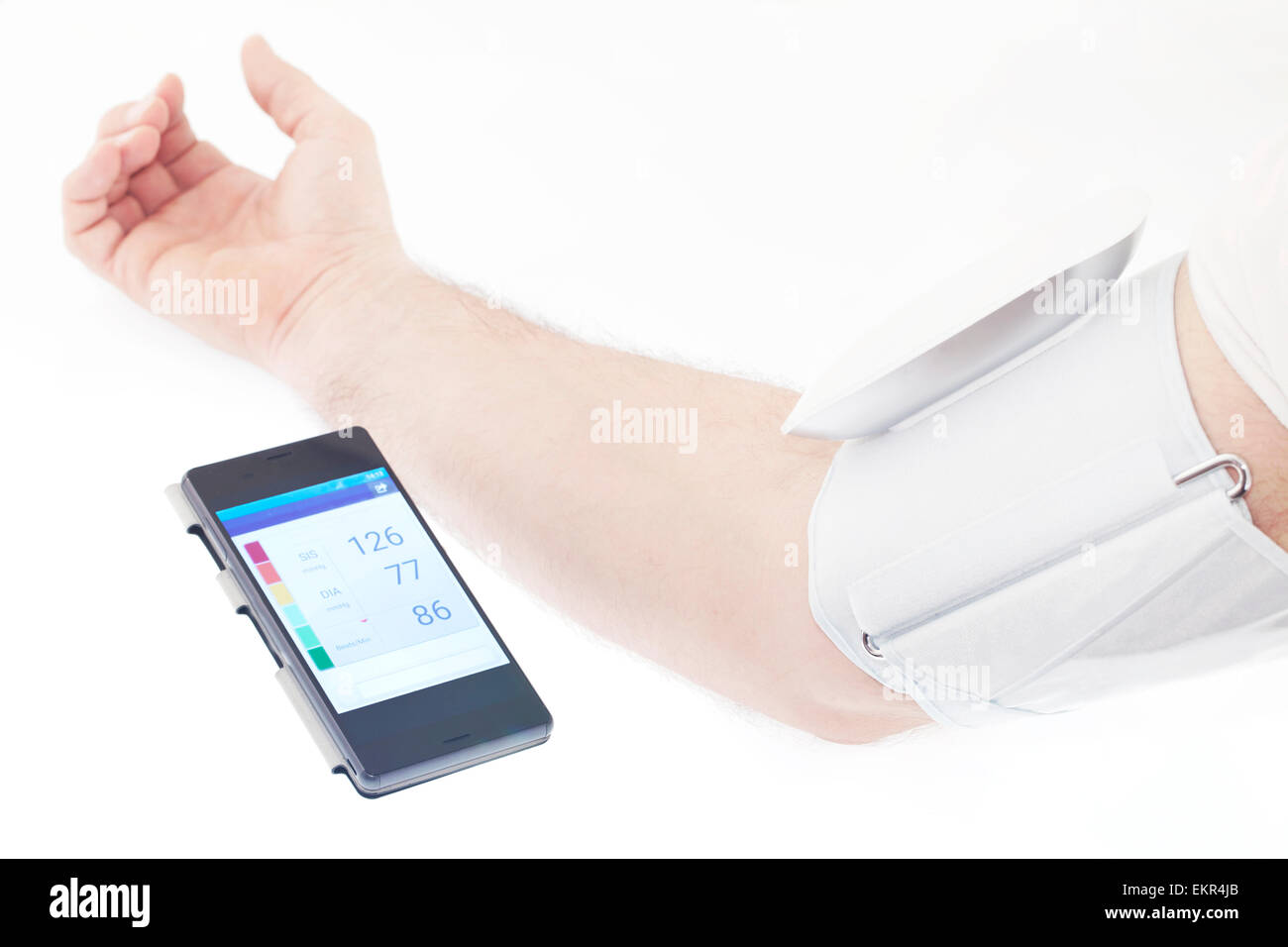 Blood pressure - Stock Image