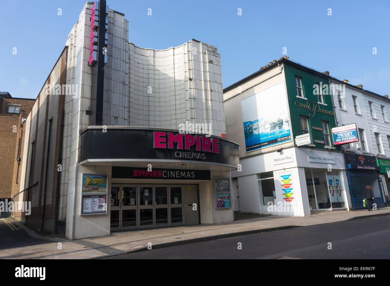 The Empire Cinema in Bromley, South London - Stock Image
