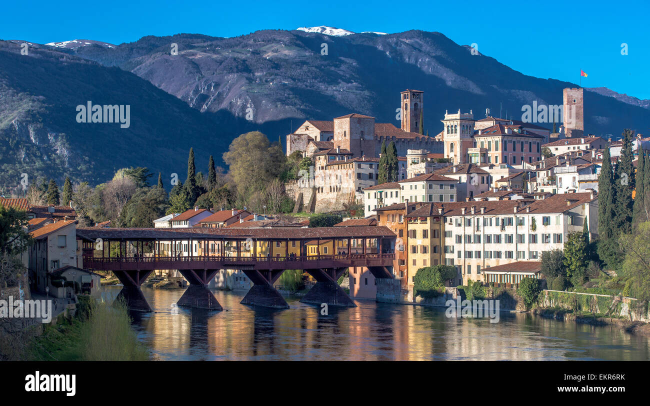 Bassano del grappa a city in northern italy monte grappa is at the stock photo 81030199 alamy - Cucine bassano del grappa ...