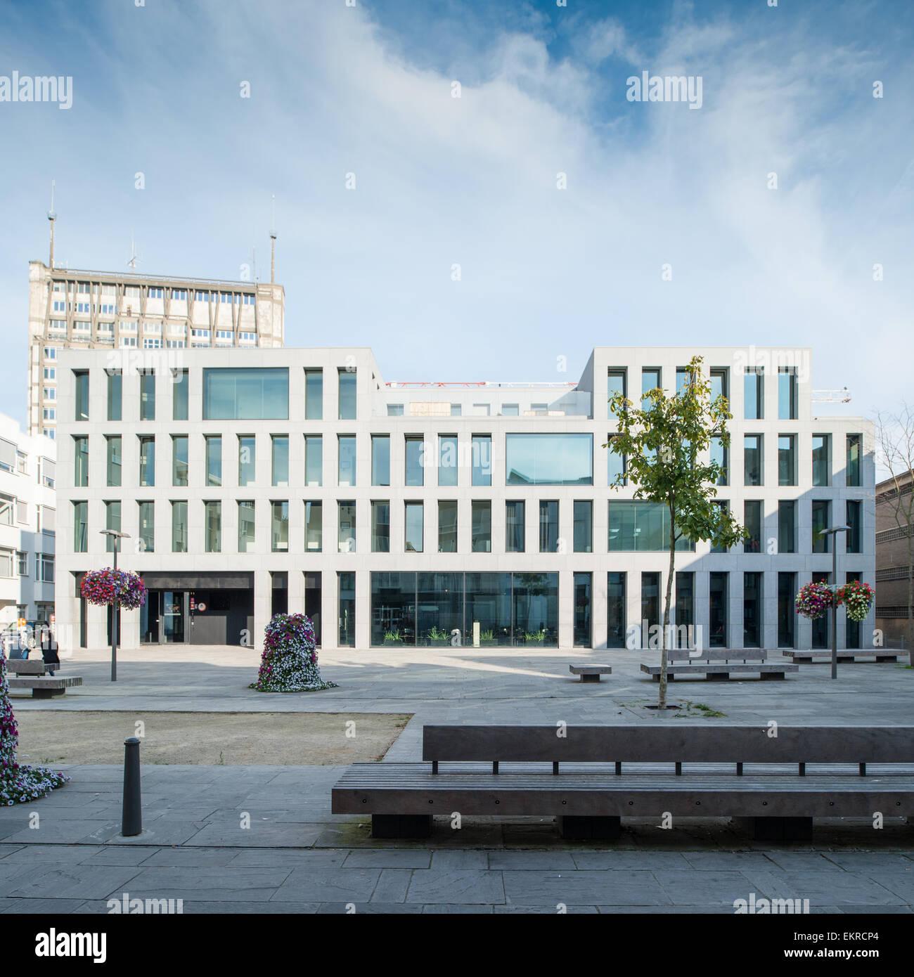 Belgium, Antwerp, Youth hostel designed by Vincent Van Duysen ...