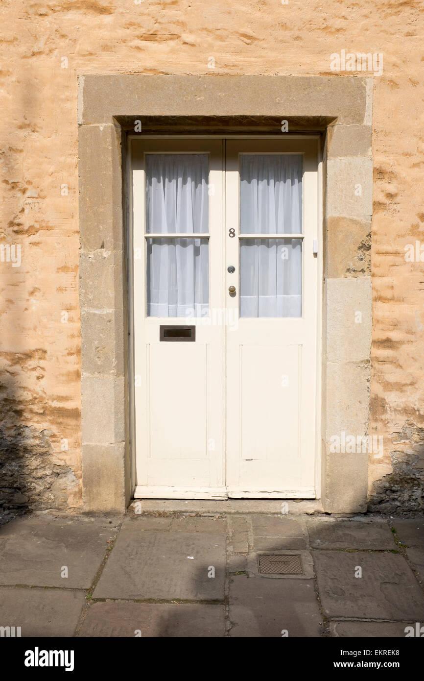 House Door High Street Corsham Stock Photo
