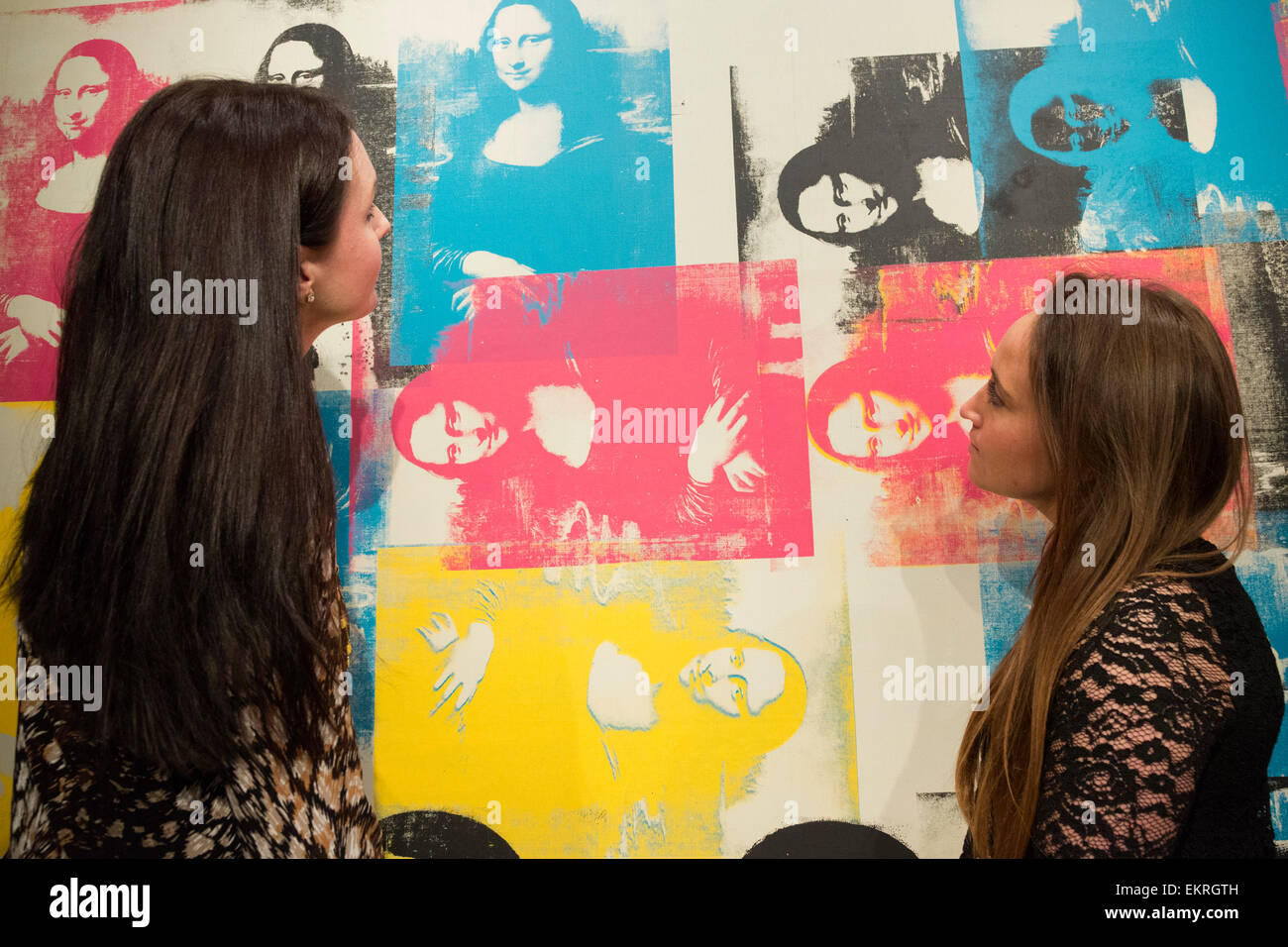 Bien-aimée Warhol Mona Lisa Stock Photos & Warhol Mona Lisa Stock Images - Alamy #DB_52