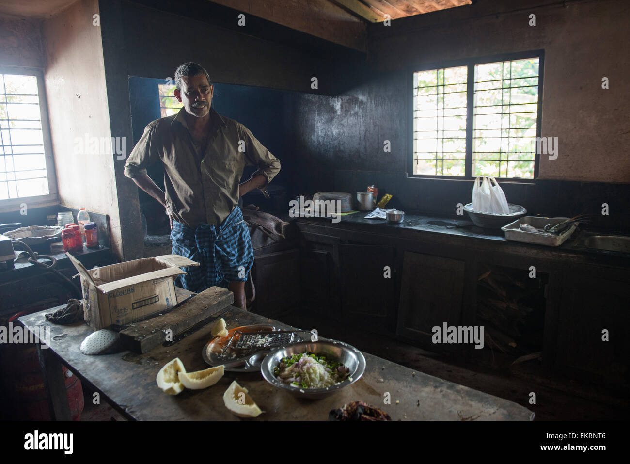 Kerala Kitchen High Resolution Stock Photography And Images Alamy