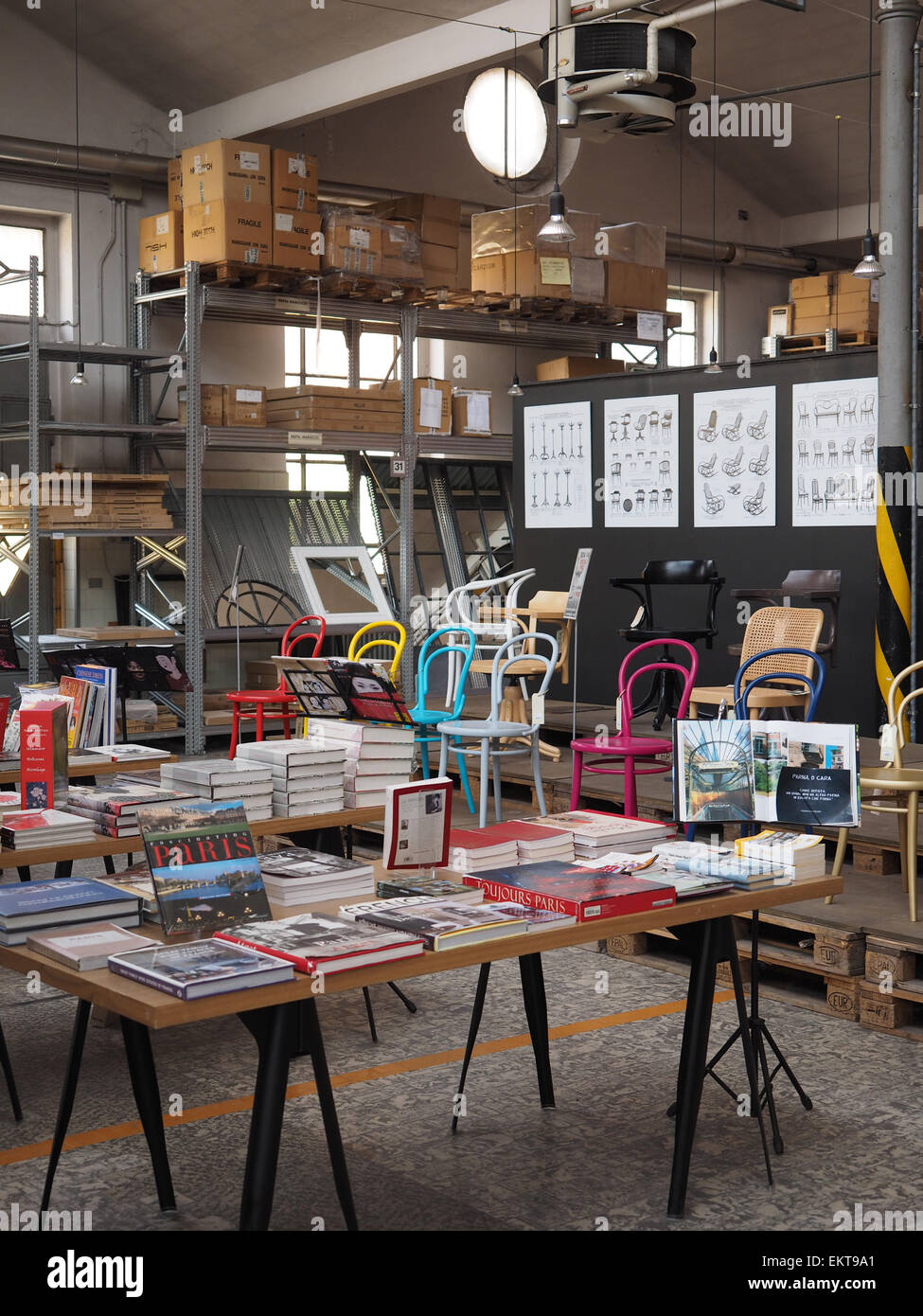 Cargo, Furniture And Kitchen Store, Via Meucci Street, Milan, Lombardy,  Italy, Europe