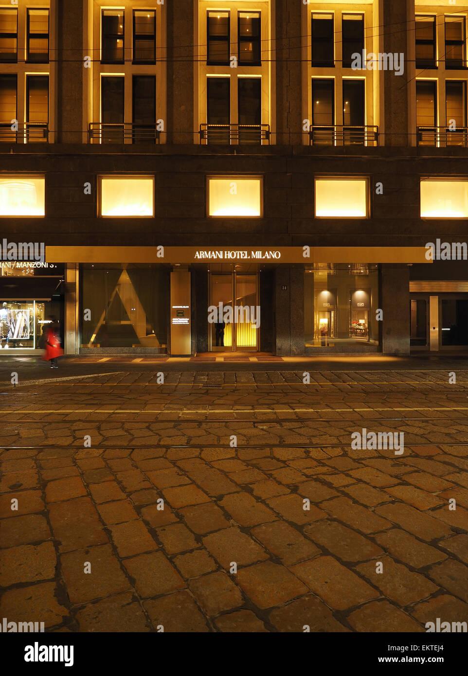 Armani Hotel Milano In 2019: Armani Hotel Stock Photos & Armani Hotel Stock Images