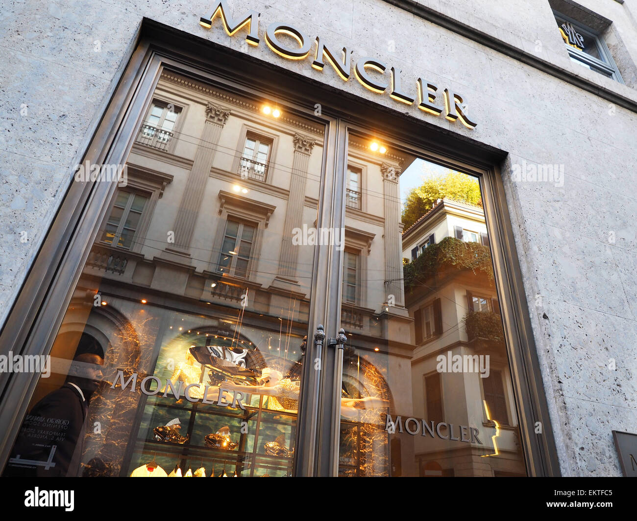 uk availability 4c18b 6a83f Moncler store, Montenapoleone street, Milan, Lombardy, Italy ...