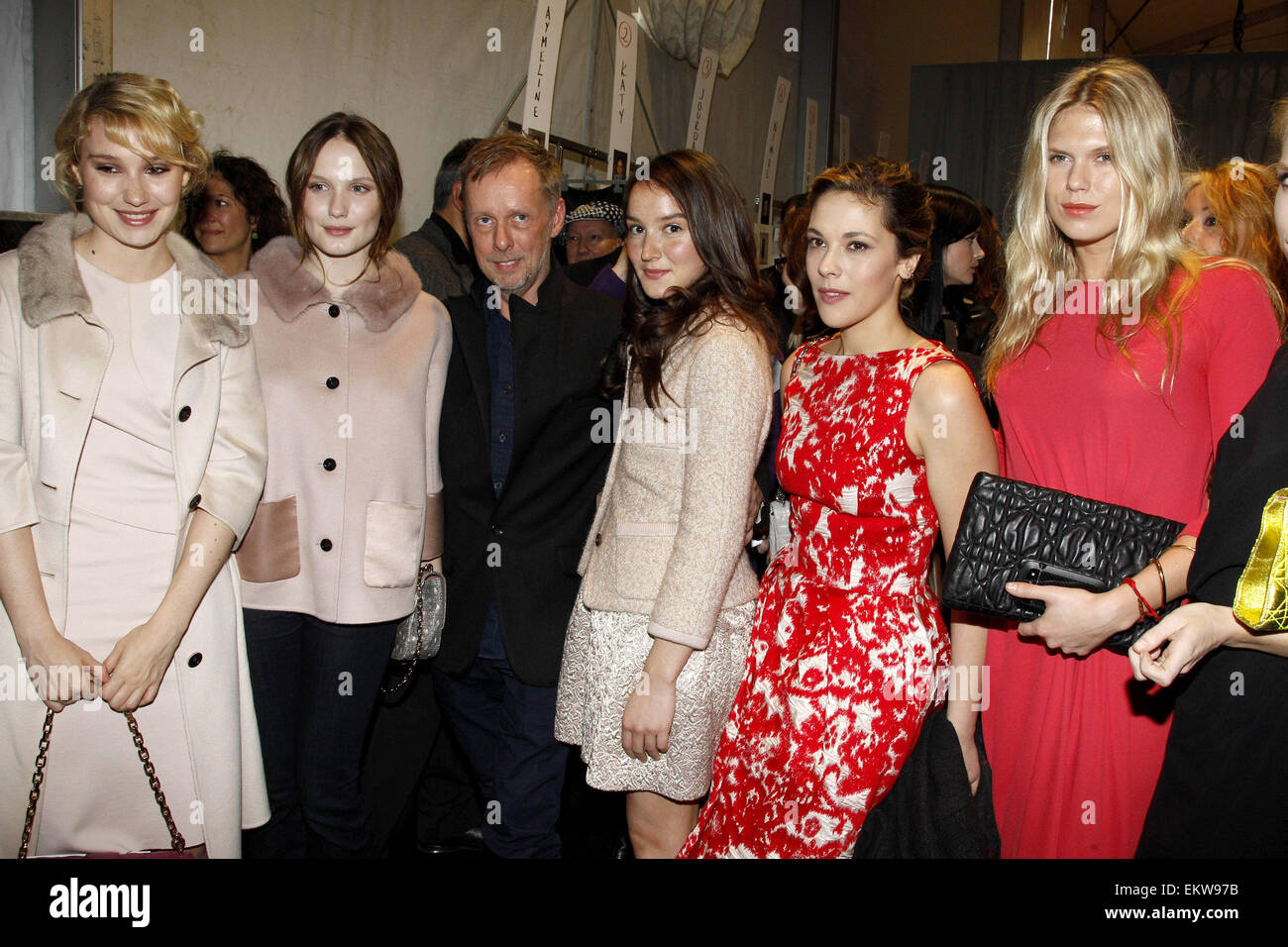Anais Alexandra 02.march.2012. paris deborah francois , ana girardot , bill