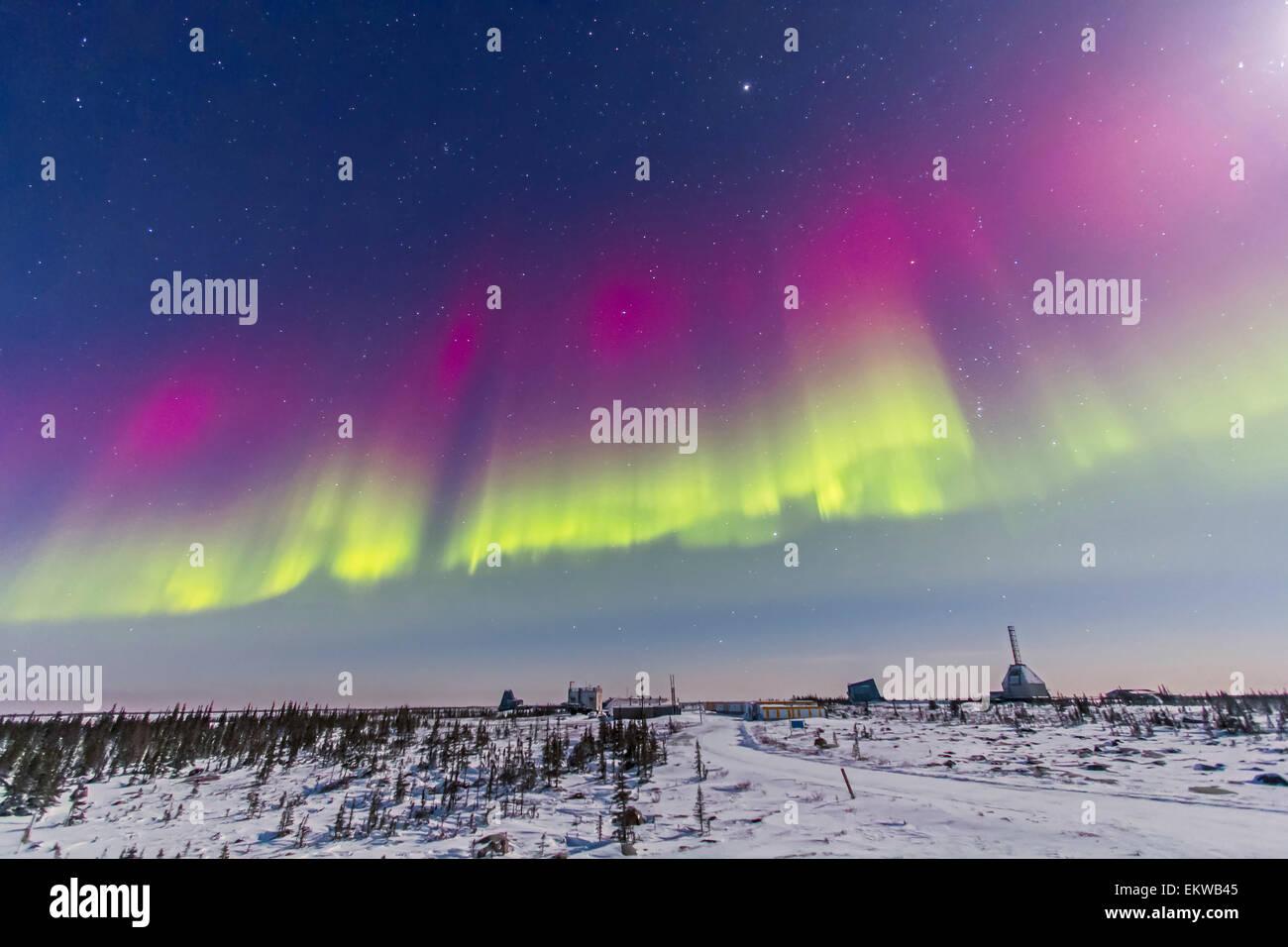 February 7, 2014 - Aurora borealis seen from Churchill
