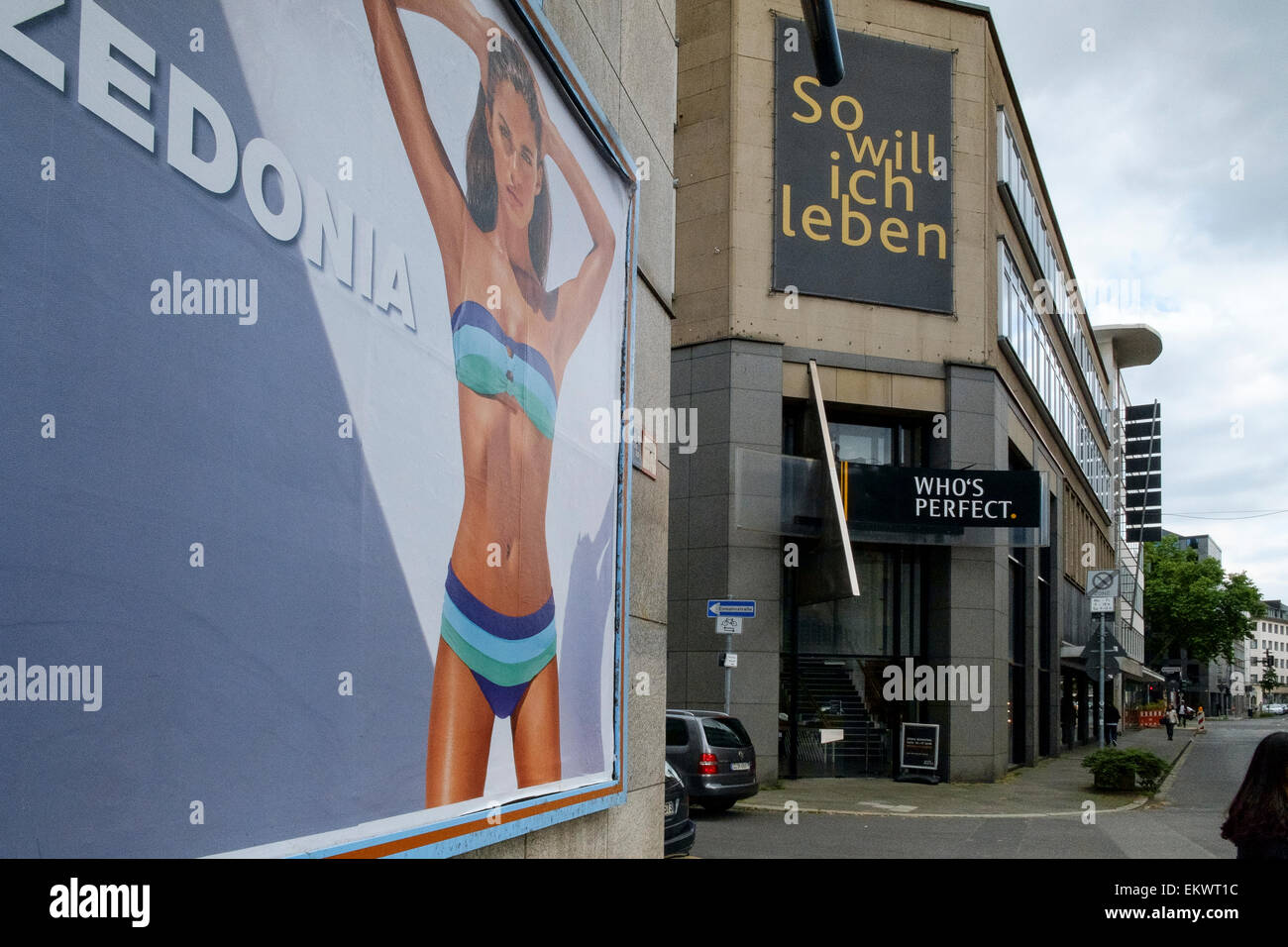 who's perfect so will ich leben zedonia germany - Stock Image