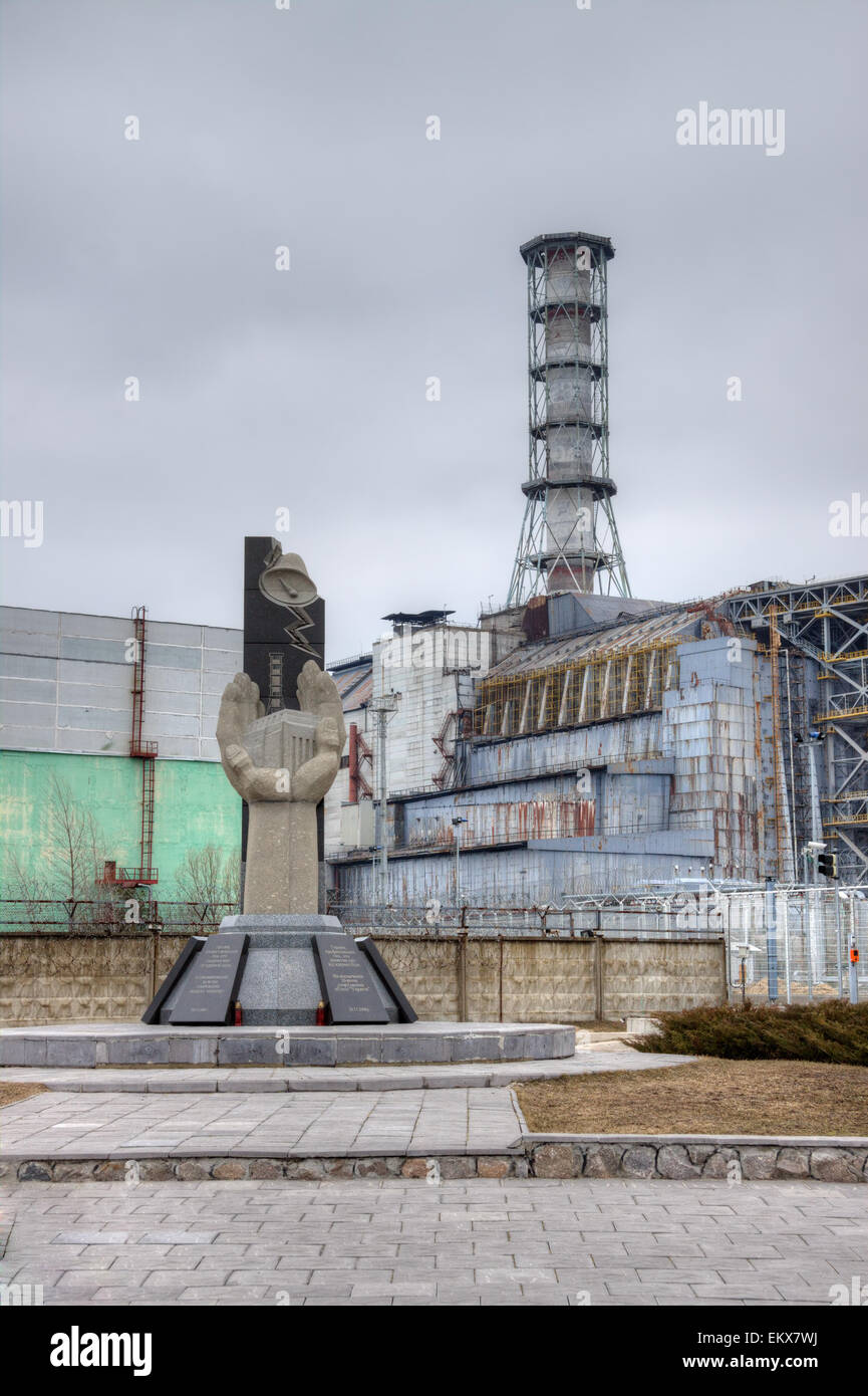 Chernobyl nuclear power plant in pripyat stock photo 81096894 alamy chernobyl nuclear power plant in pripyat freerunsca Images