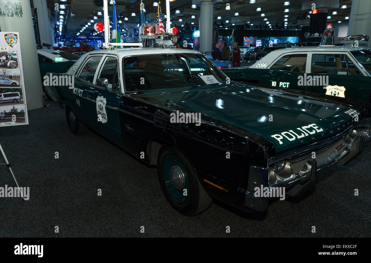Plymouth Fury Stock Photos Images Alamy 1960 Police Car New York Ny April 2 2015 I 1971 Edition