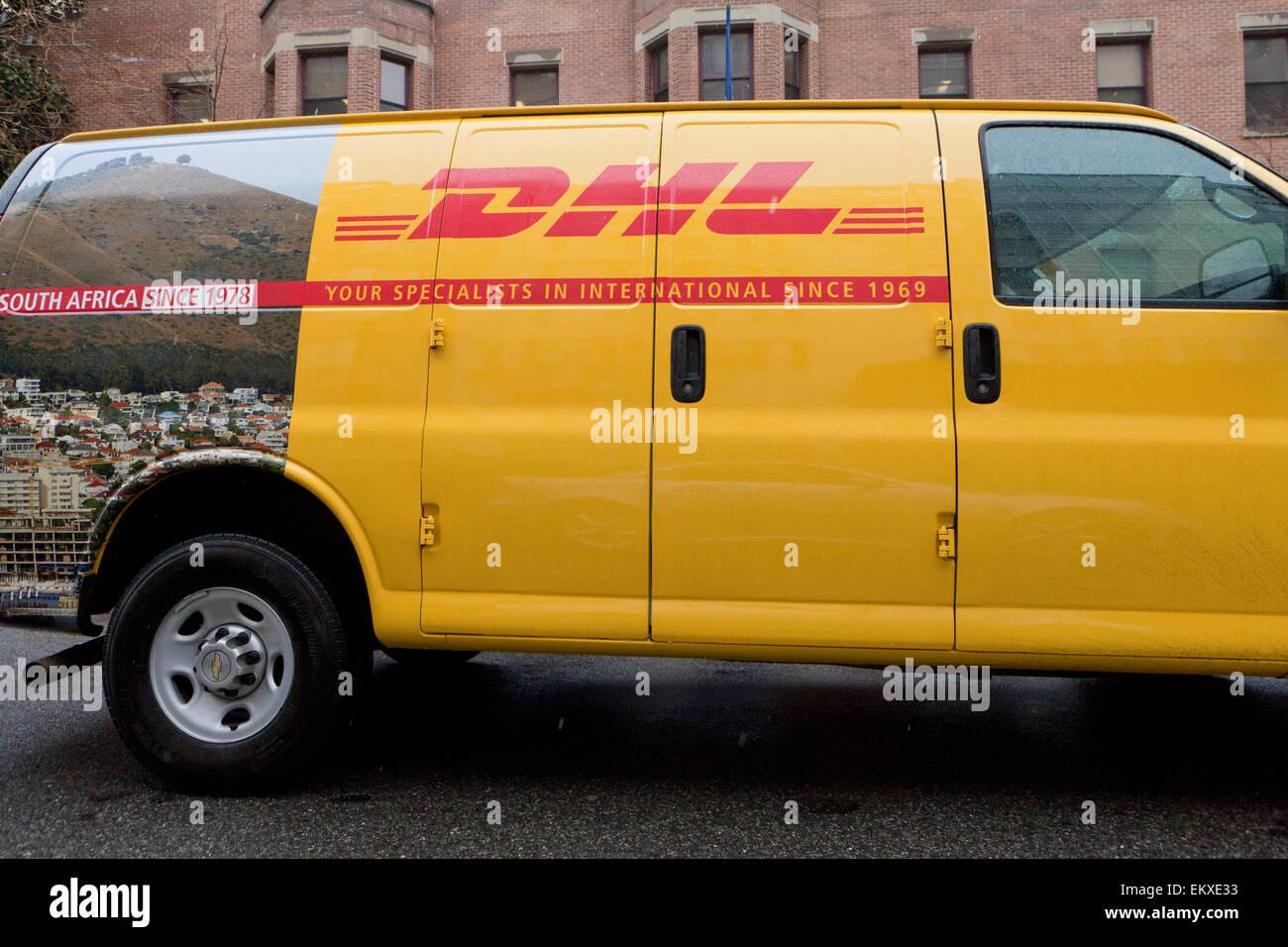 DHL delivery van - Washington, DC USA Stock Photo: 81101751