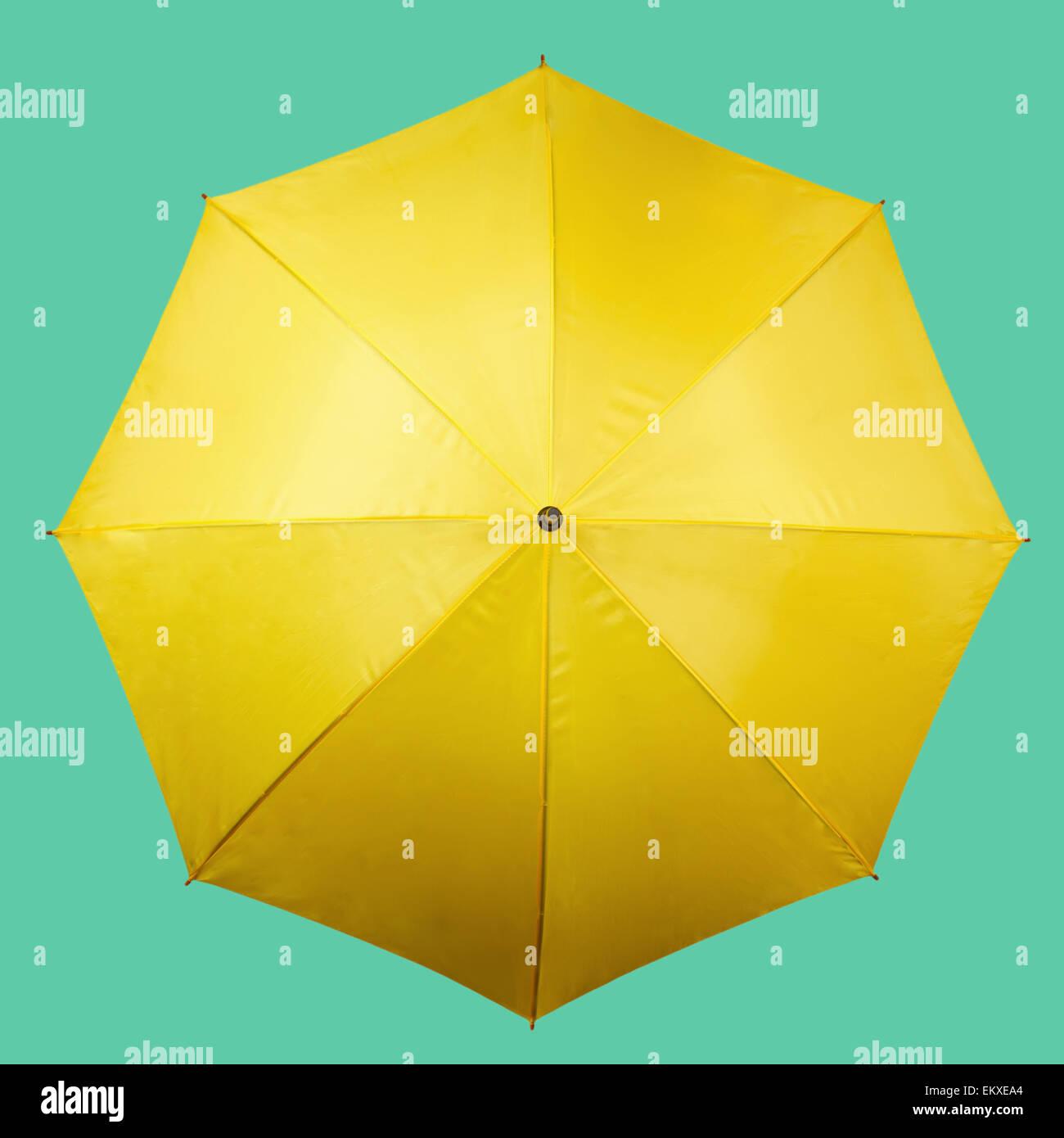 Yellow Umbrella Stand: Yellow Umbrella Open Stock Photos & Yellow Umbrella Open