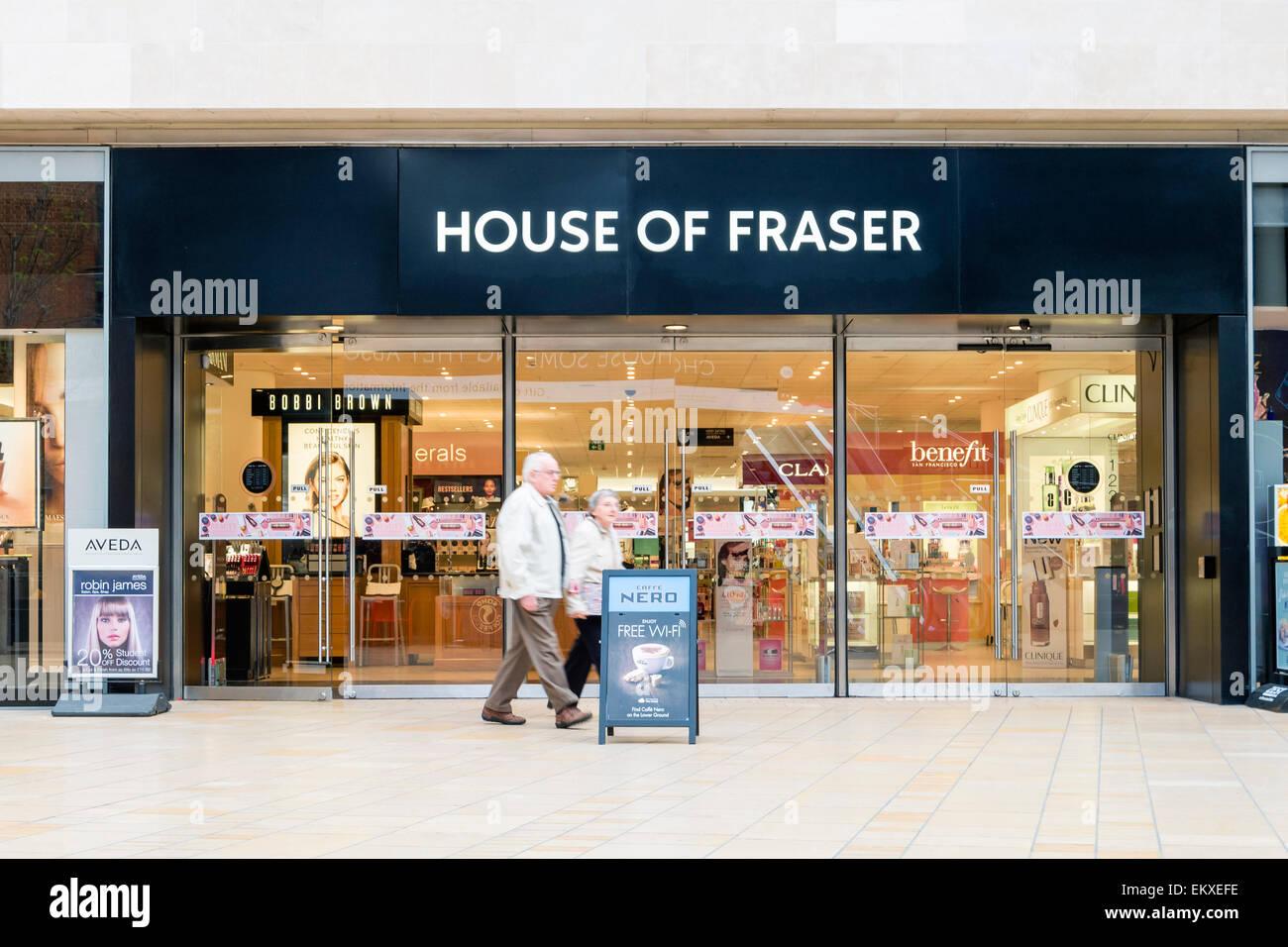 House of Fraser store, Bristol, UK. - Stock Image